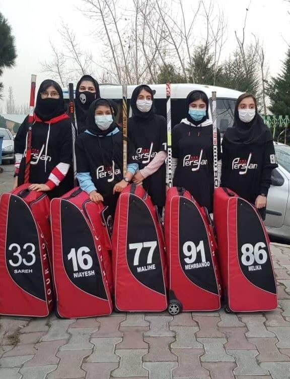 حضور هفت دختر قمی در تیم ملی اینلاین هاکی