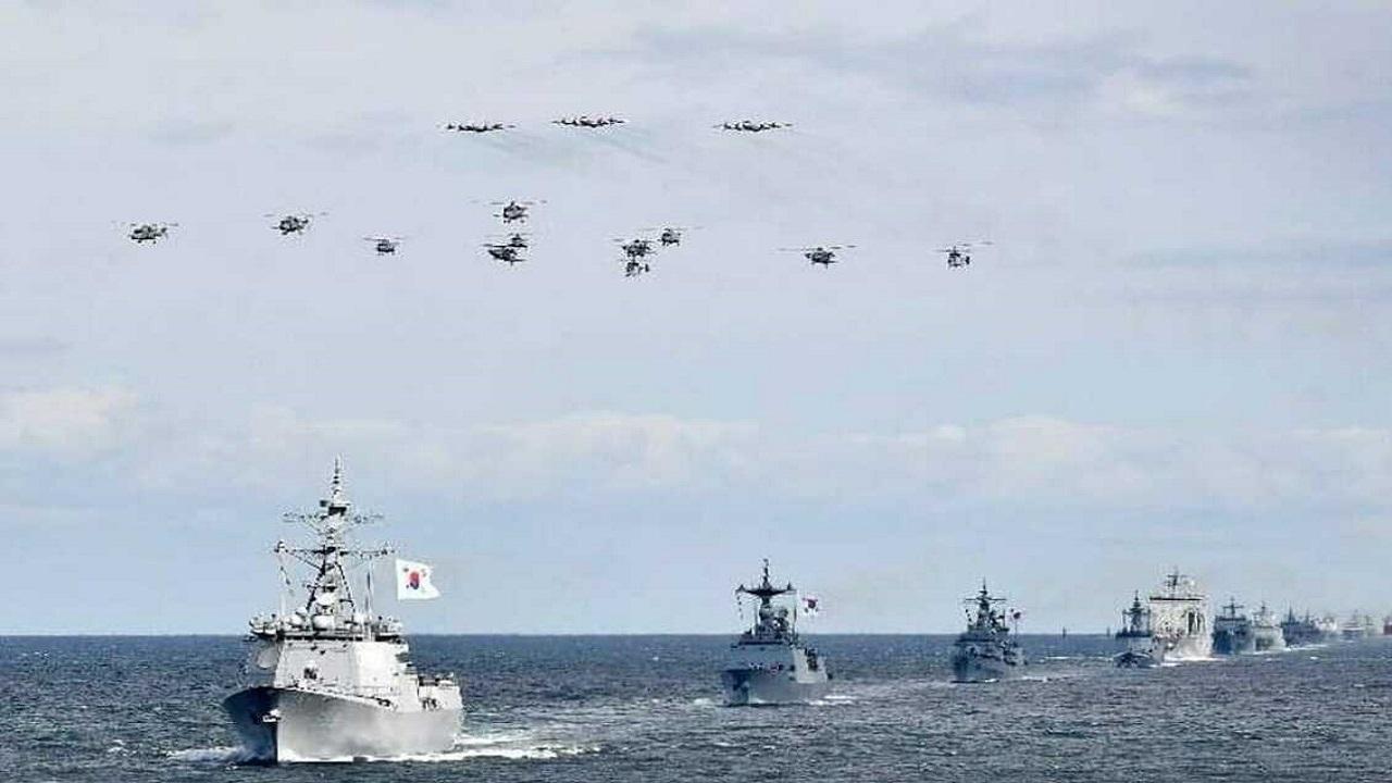 کشتیهای جنگی کره جنوبی از تنگه هرمز عقبنشینی کردند