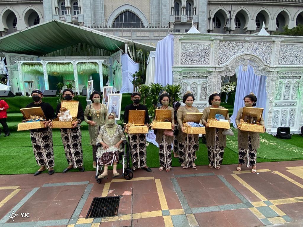 جشن عروسی ۱۰ هزار نفری پسر وزیر سوژه رسانهها شد+عکس