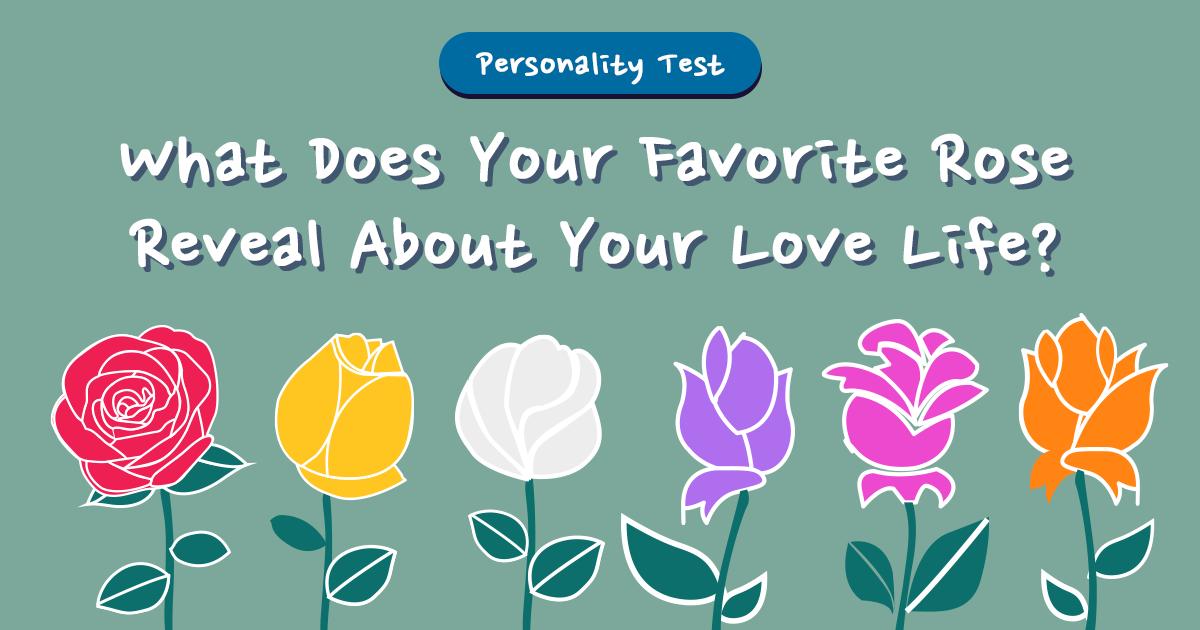تست روانشناسی که عشق شما را بر ملا میکند