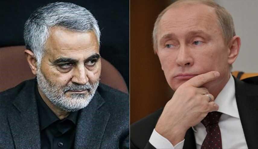 ملاقات تاریخی سردار سلیمانی با پوتین