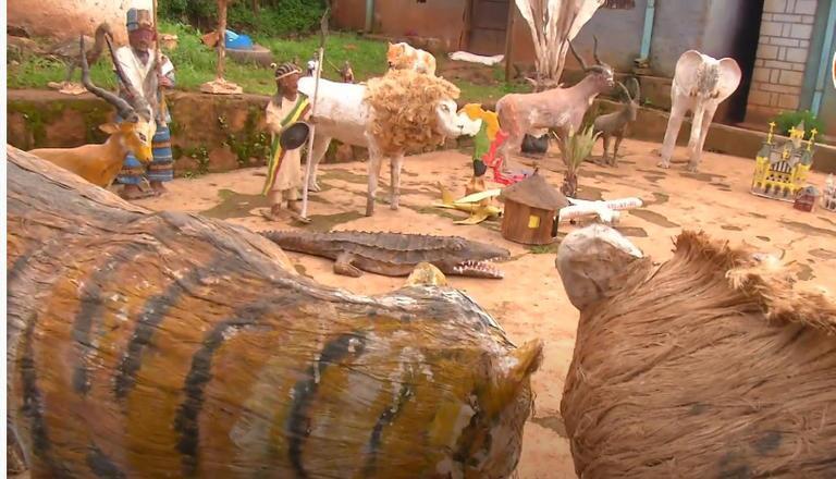 مجسمه حیوانات