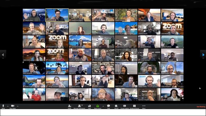 برنامه zoom در رقابت با شرکتهای گوگل و مایکروسافت