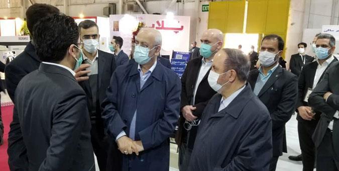 بازدید رئیس کمیسیون صنایع از نمایشگاه بین المللی لوازم خانگی