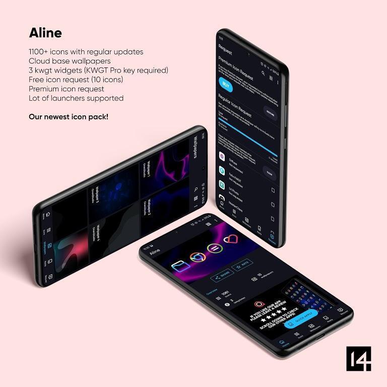 دانلود Aline Icon Pack