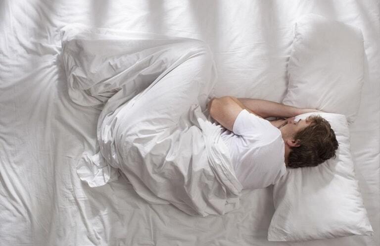 نحوه خوابیدن