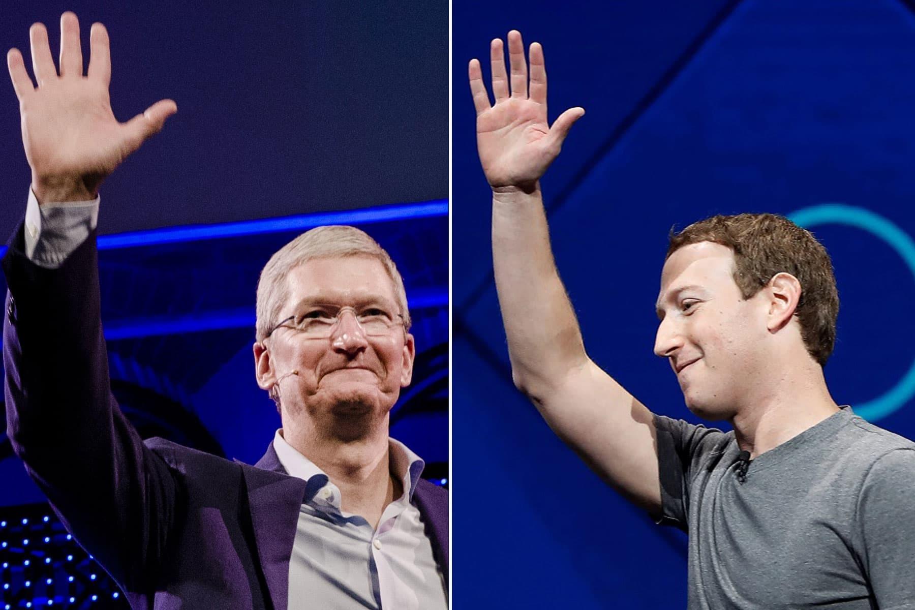 فیسبوک و اپل