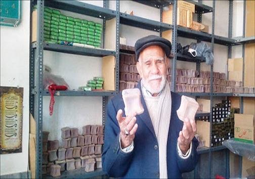 صابون ۱۰۰ ساله بیرجندی در چند قدمی فراموشی