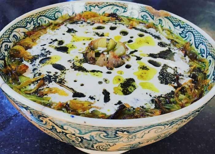 طرز تهیه اصلی آش جو مجلسی سنتی برای ۱۰ نفر+ نکات مهم خوشمزه شدن آش