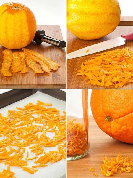 آموزش تهيه خلال پوست پرتقال