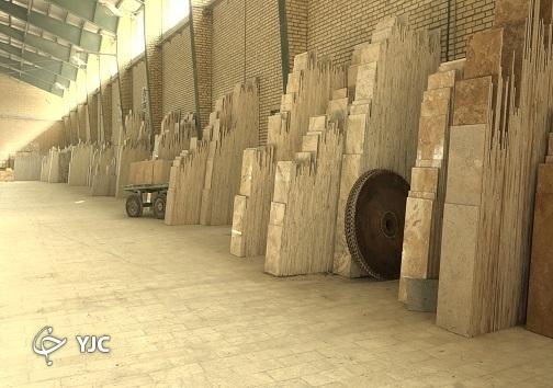 تیشه فرآوری سنگ های معدنی به ریشه ی واردات/ رخ نمایی سنگ های تولید داخل بر نمای ساختمان ها