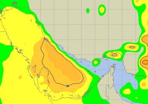 دریا طوفانی میشود/ تردد دریایی ممنوع