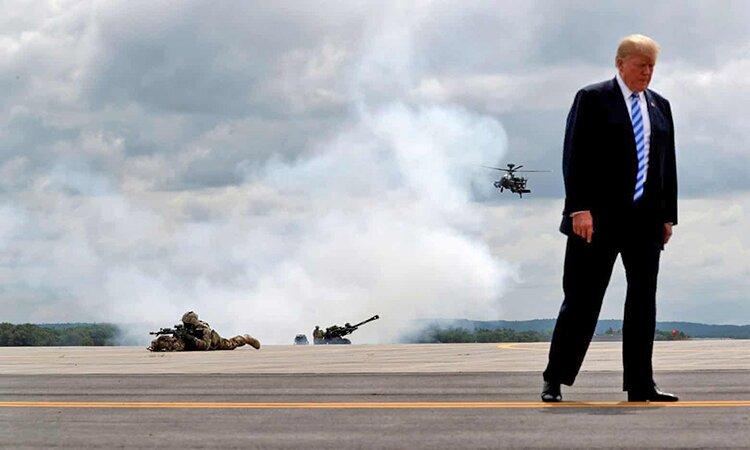 پنج قاب ماندگار از چهار سال پرحاشیه و جنجالی ریاست جمهوری ترامپ