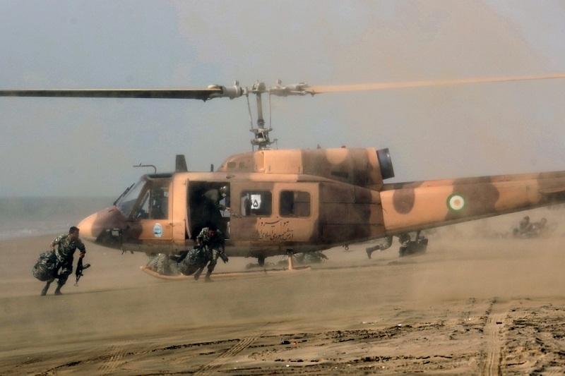 اجرای عملیات متحرک هوایی توسط نیروهای مخصوص تیپ ۲۲۳