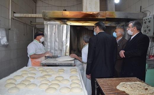 بازدید سر زده از نانوائیها/ تشویق برای نانوایان با کیفیت و برخورد با نانوایان متخلف +تصاویر