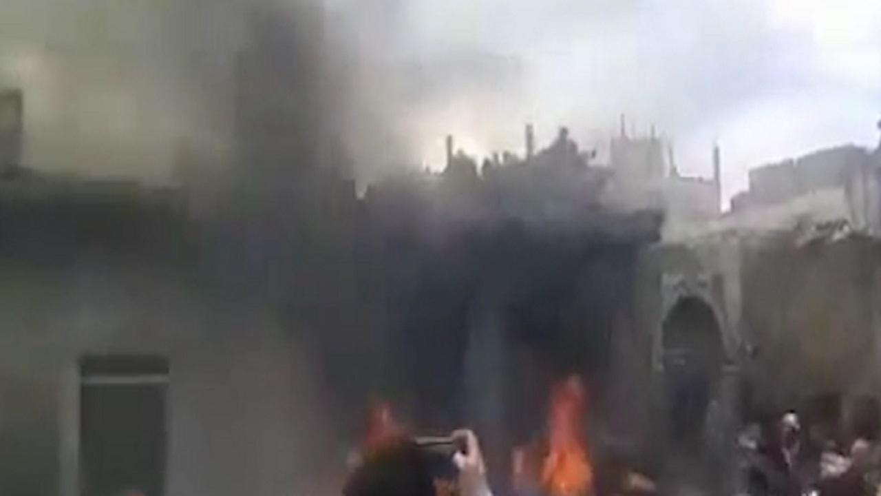 انفجار خودرو بمبگذاری شده در یکی از شهرهای سوریه + فیلم
