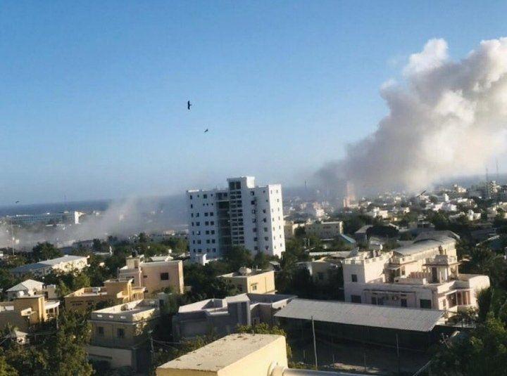 انفجار و تیراندازی در موگادیشو