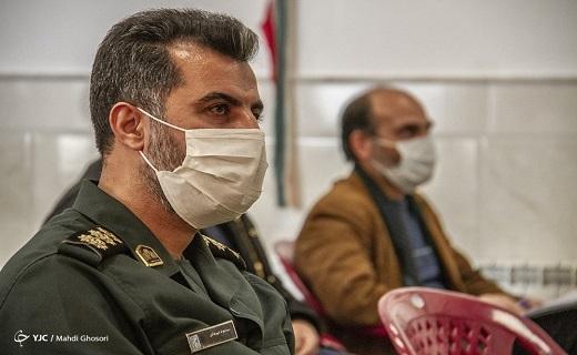 انتخابات شورای جهادی بسیج ناحیه سپاه قم به روایت دوربین