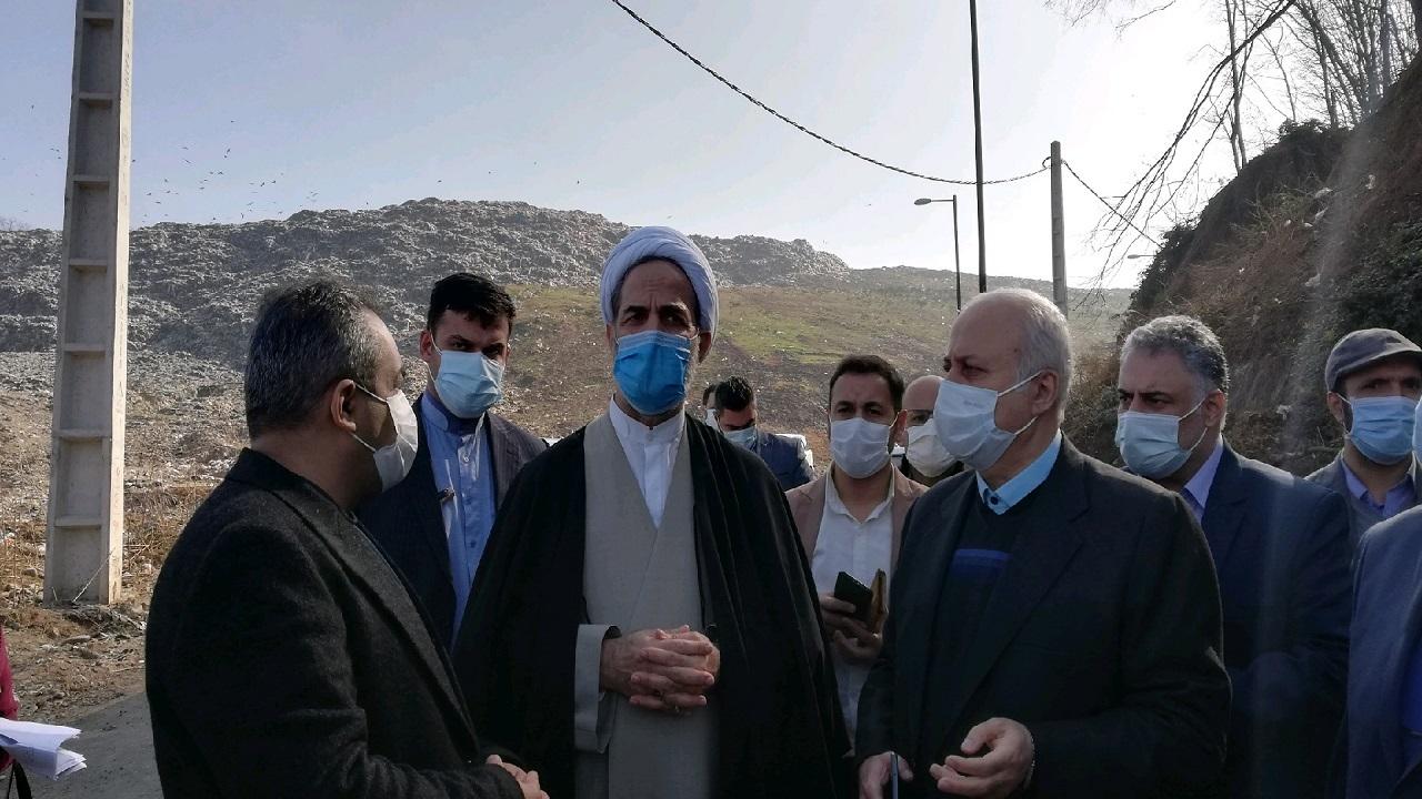 بررسی مشکلات کارخانههای ایران پوپلین ، پارس خزر و محل دفن زباله سراوان با حضور رئیس بازرسی کل کشور