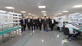 افتتاح کارخانه مونتاژ تبلت کشور در مراغه