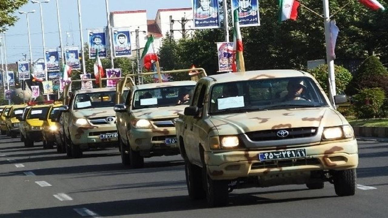 رژه خانوادگی خودرویی در روز گرامیداشت یوم الله ۲۲بهمن