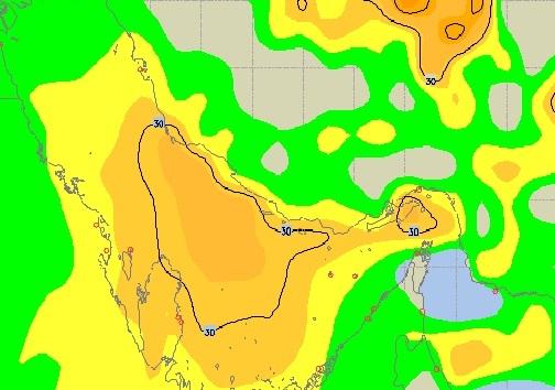 دریا طوفانی است/ کاهش دما و احتمال سرمازدگی محصولات کشاورزی
