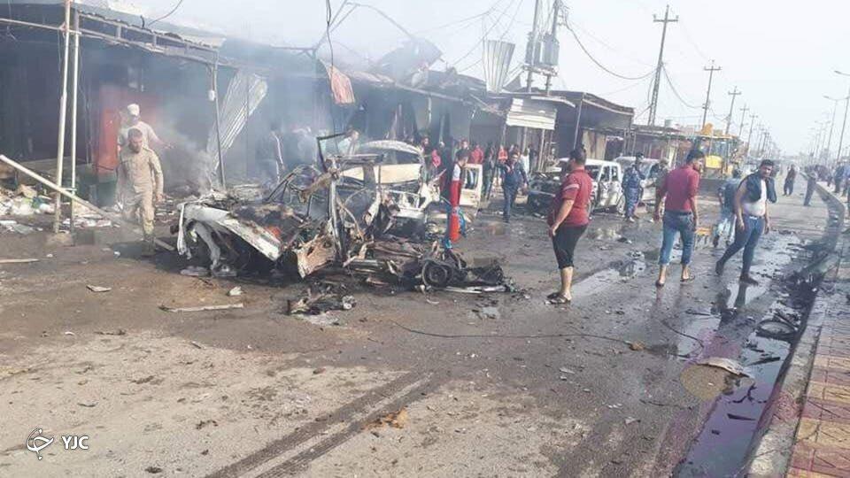 وقوع دو انفجار در مرکز بغداد+ تصاویر