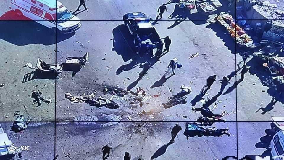وقوع دو انفجار در مرکز بغداد+ فیلم و تصاویر