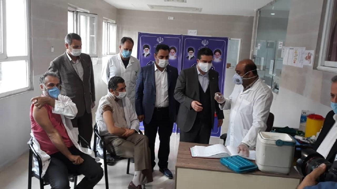واکسیناسیون کرونا در قزوین