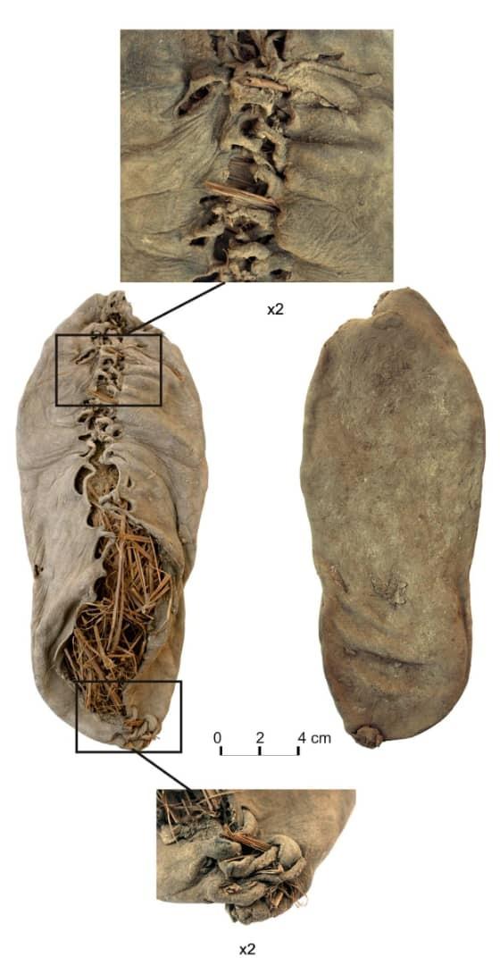 کفش چرمی جهان با ۳۵۰۰ سال قدمت + تصاویر
