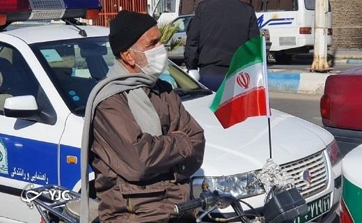 جلوههای ویژه از شکوه رپژه موتوری۲۲ بهمن در شهرستانهای یزد