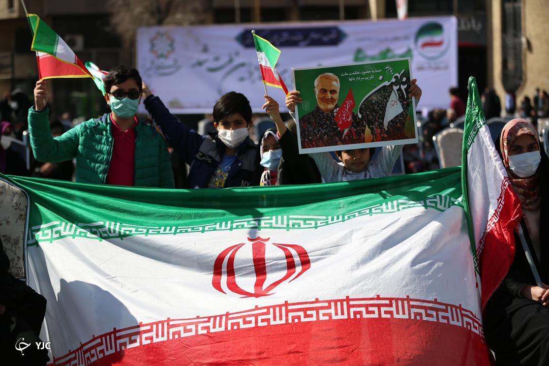 راهپیمایی ۲۲ بهمن ماه در فارس