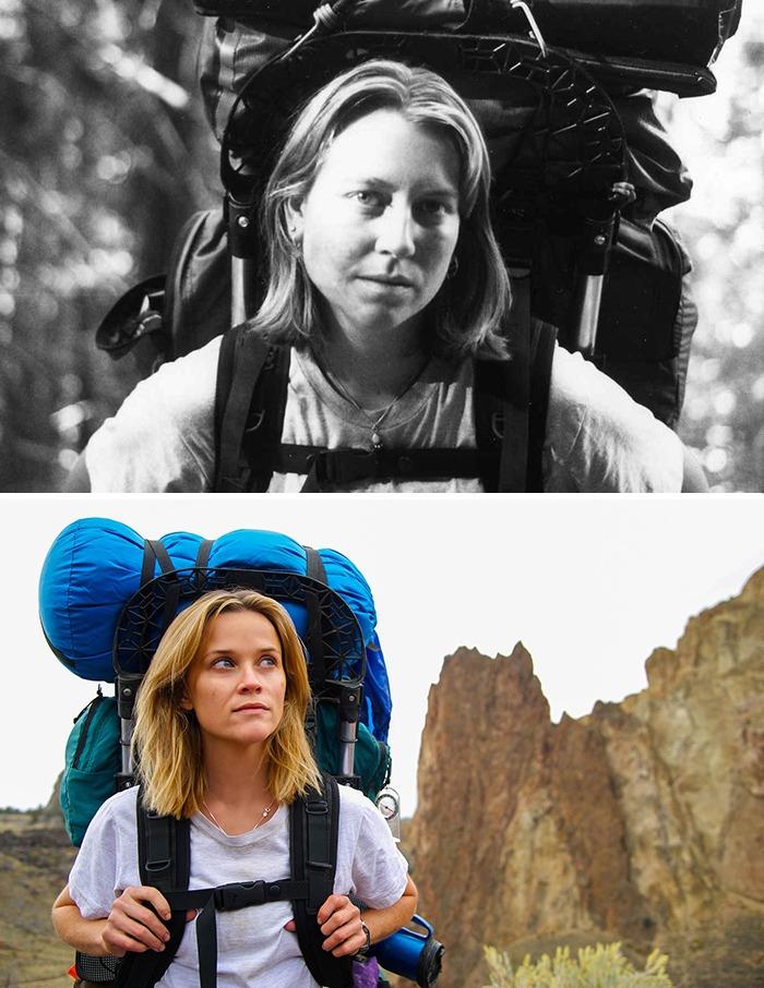 تصاویر کاراکترهای سینمایی با افراد واقعی که الهامبخش داستان فیلم بودهاند