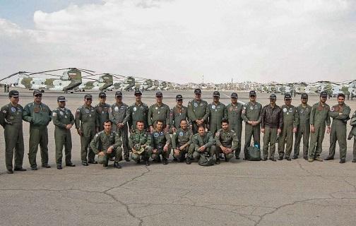 یکه تازی پایگاه چهارم هوانیروز ارتش در ارتقای توان عملیاتی و امدادرسانی