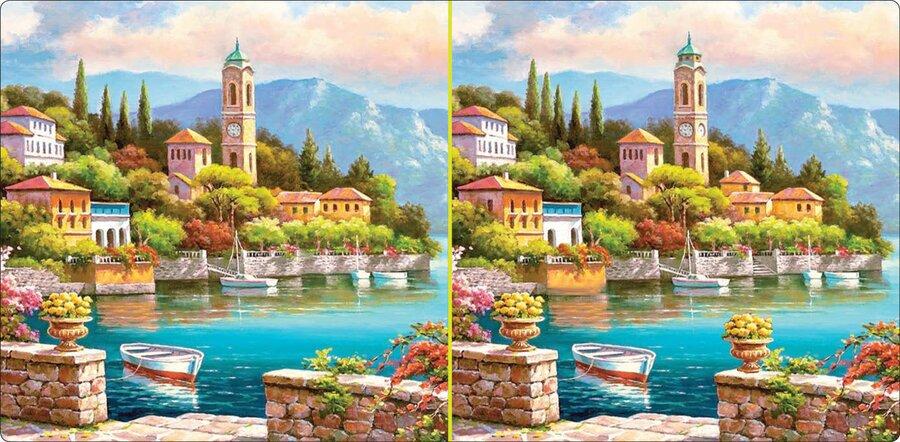 ۱۰ تفاوت بین این ۲ تصویر مشابه را پیدا کنید