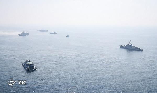 رزمایش مرکب ایران و روسیه