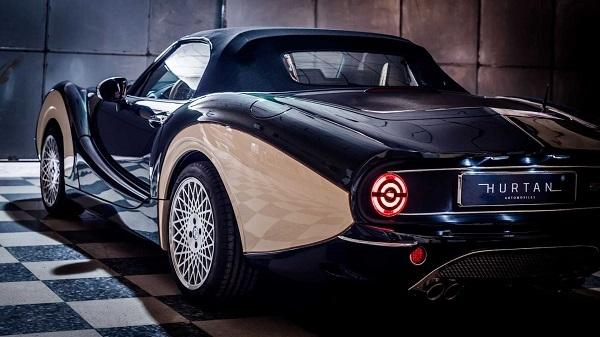 رونمایی از خودرو کلاسیک Hurtan Grand Albaycin