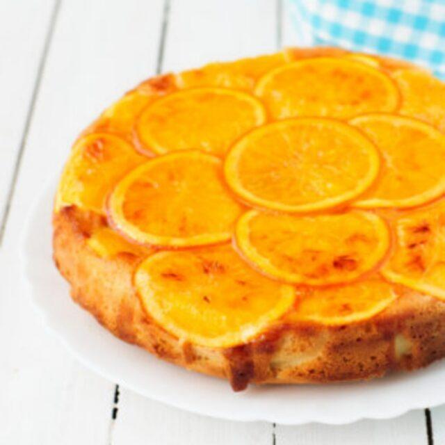طرز تهیه تراول کیک پرتقال با طعمی بی نظیر + طرز تهیه سس براق پرتقالی