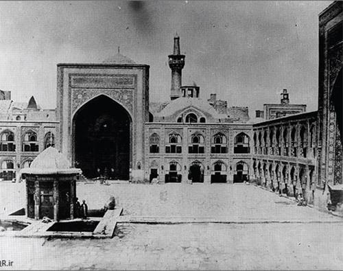 تصویری از مشهد در دوران قاجار