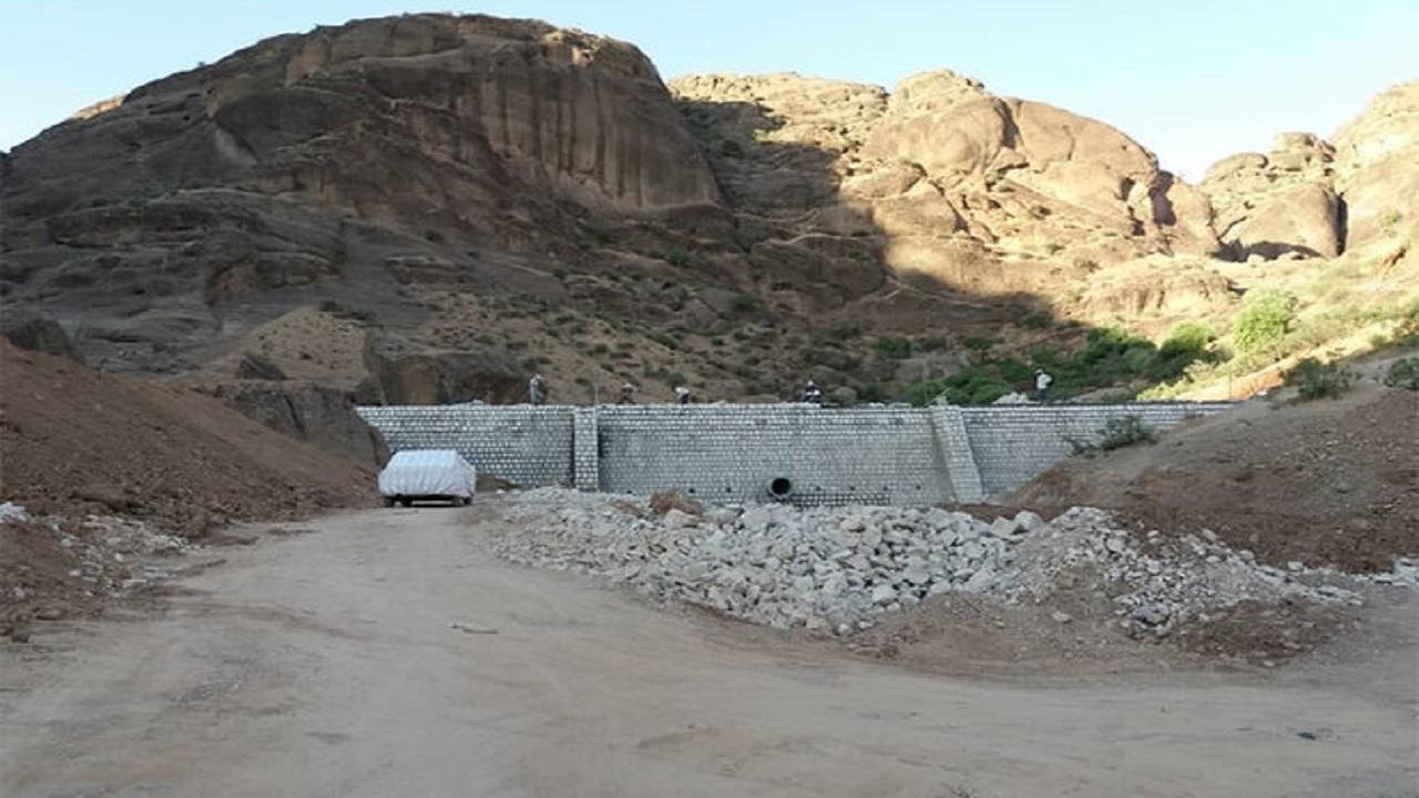 آغاز اجرای عملیات آبخیزداری احداث بندهای سنگ و ملات دامغان