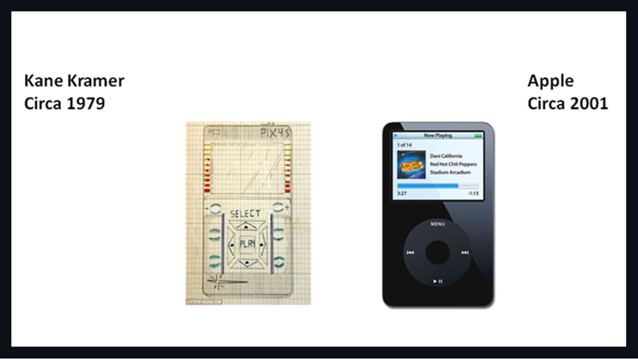 ثبت اختراعی جالب قبل از ساخت آیپد اپل
