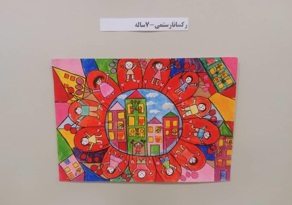 روایت رکسانای ۷ ساله از نقاشی که جایزه جهانی صلح را گرفت