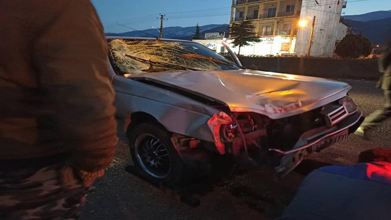 وقوع تصادف مرگبار در چابکسر