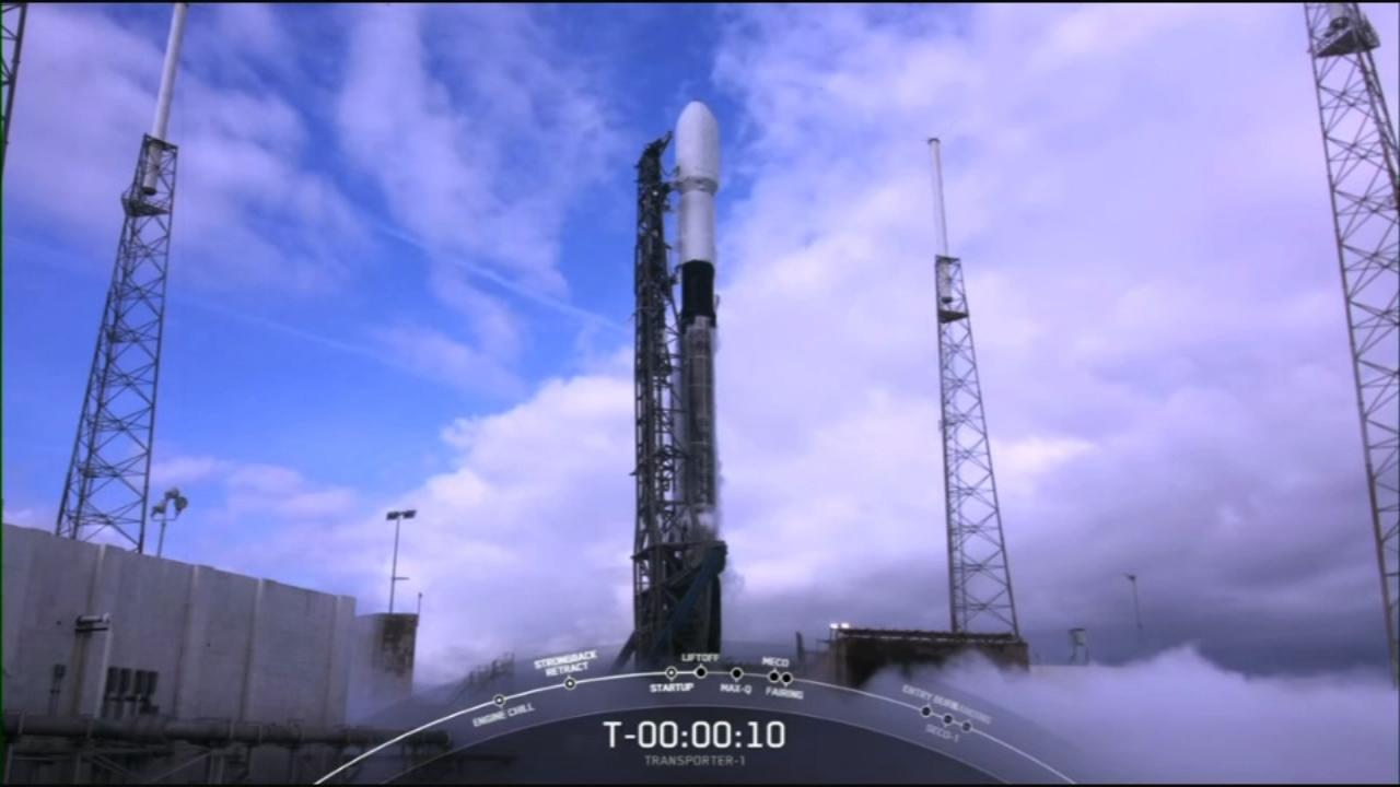 پرتاب ماهواره های جدید توسط SpaceX در اولین ماموریت اشتراکی