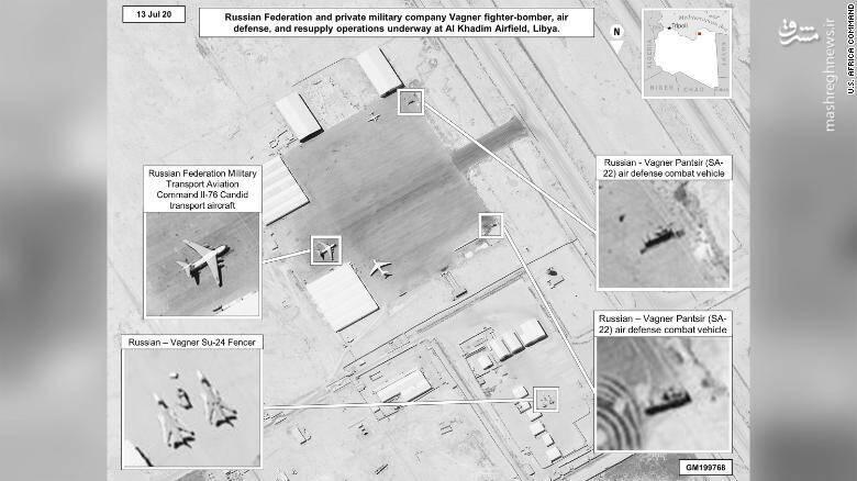 آخرین تحولات میدانی لیبی/ دژ دفاعی ۷۰ کیلومتری قوای روسی مانع از بلند پروازی ترکیه در لیبی +تصاویر