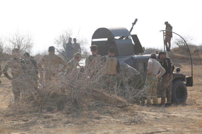 کشف تونل و مخفیگاههای تسلیحاتی داعش در شرق صلاحالدین + تصاویر