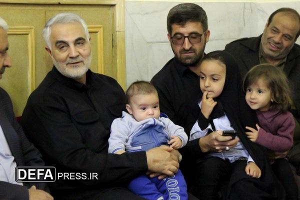 شهیدی که حاضر به دیدن عکس فرزندش نشد! + تصاویر