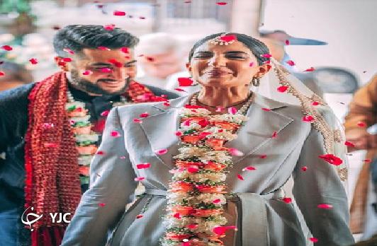 لباس متفاوت عروس هندی در جشن عروسی