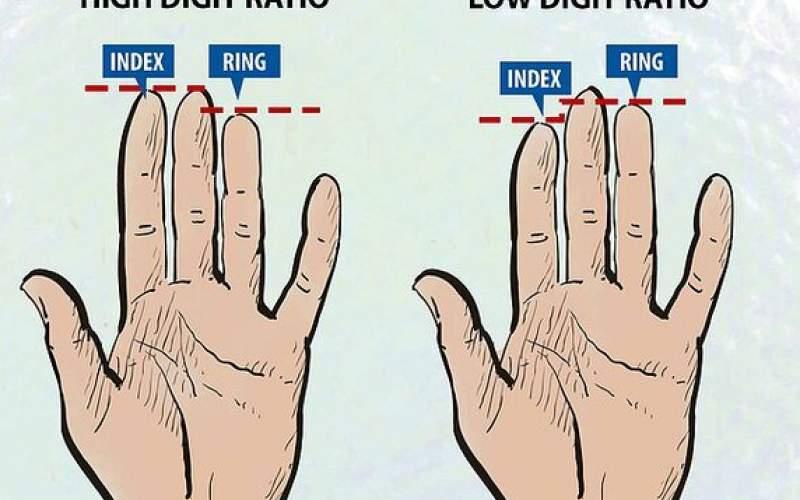 رازی که انگشتان شما از عادات غذاییتان برملا می کنند! + عکس