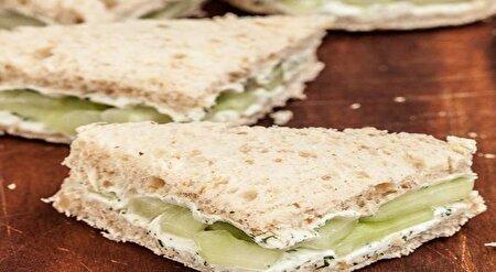 ساندویچ رژیمی خیار و لیمو + دستور تهیه